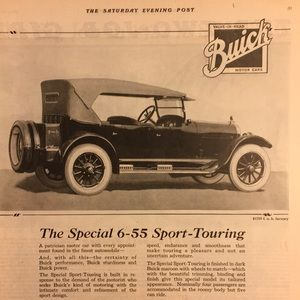 Vintage Other - June 10, 1922 The Saturday Evening Post
